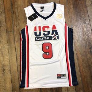 NWT Michael Jordan USA Chicago Bulls Jersey NEW